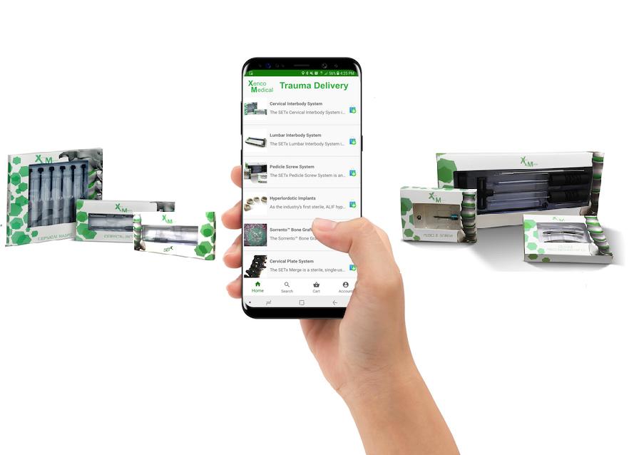 Xenco Medical TraumaGPS Mobile App