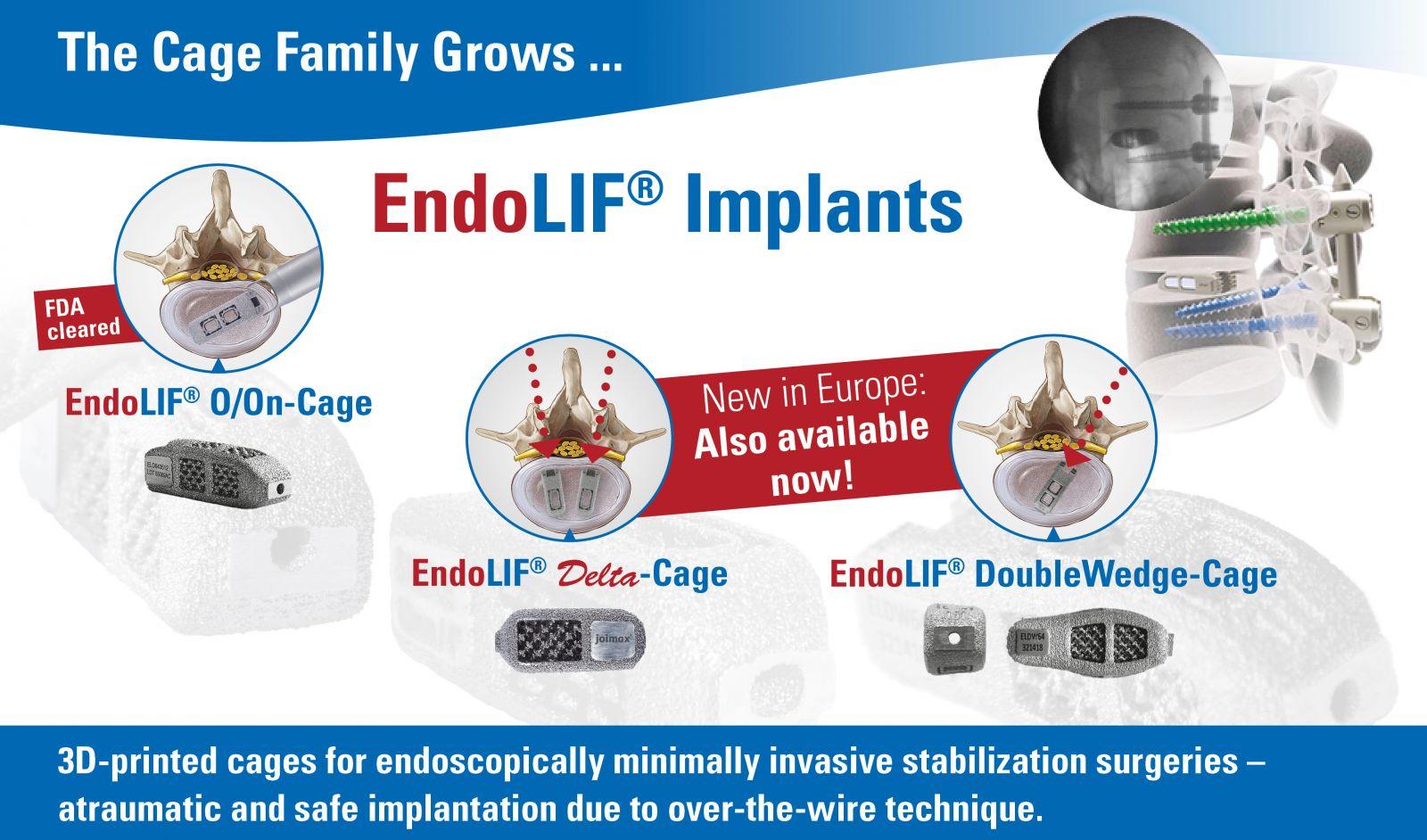 joimax EndoLIF Implants - ORTHOFLASH