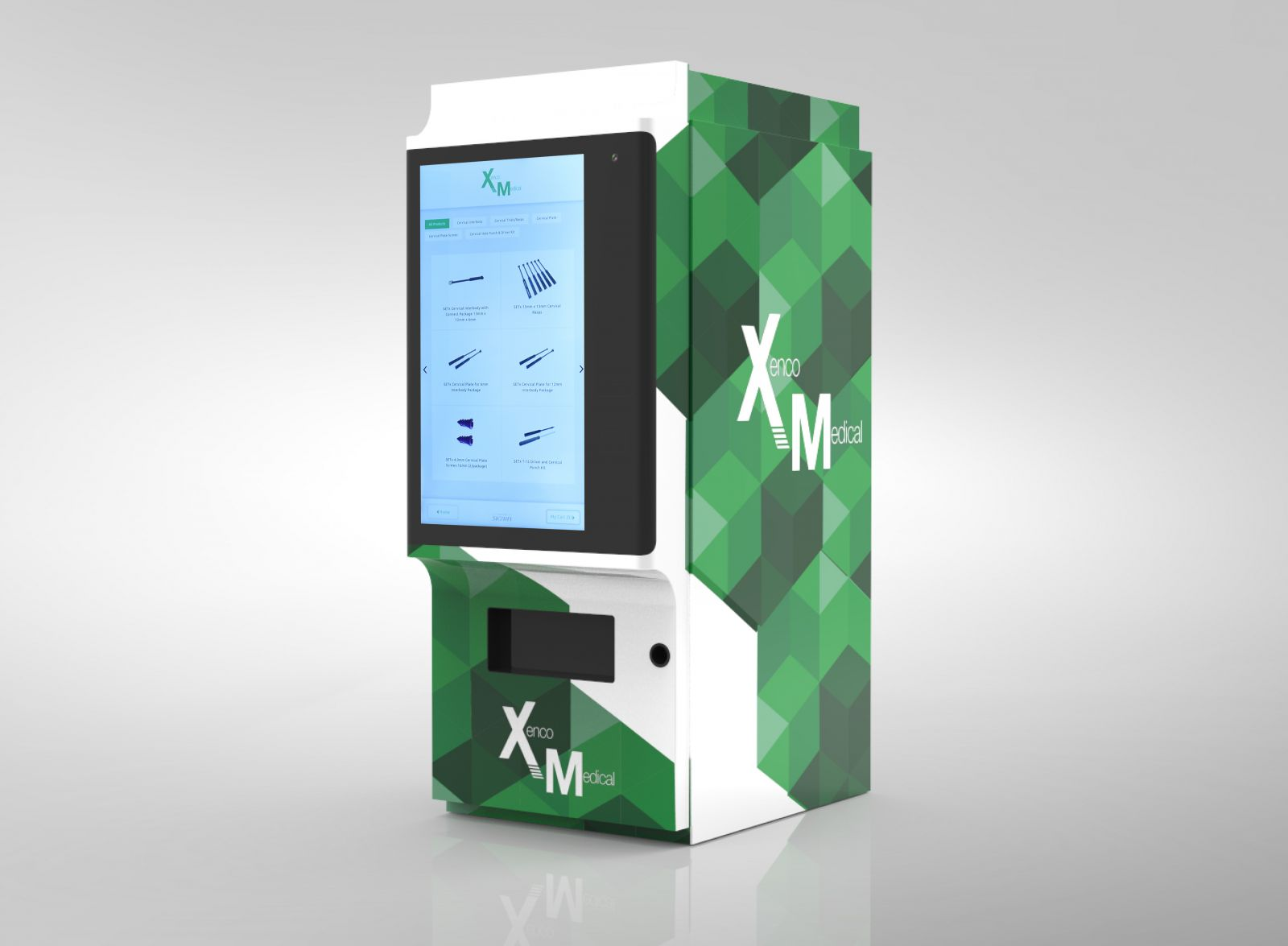 Xenco Medical Vending Machine - ORTHOFLASH