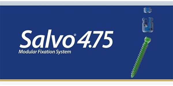 Spine Wave Launches the Salvo 4.75 mm Spine System