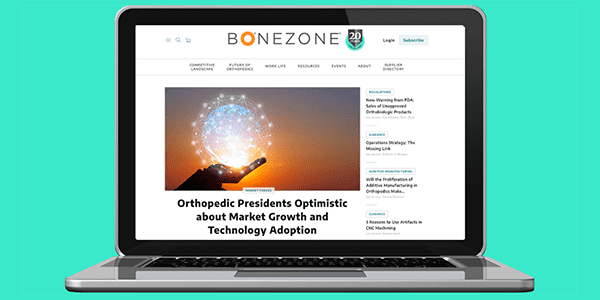 ORTHOWORLD Launches All-new Orthopedic Supplier Directory and BONEZONE Website to Product Development Engineers