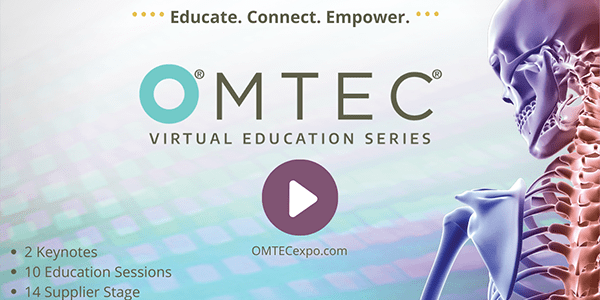 Orthopedic Manufacturing and Technology Community Convenes for OMTEC Virtual Education Series