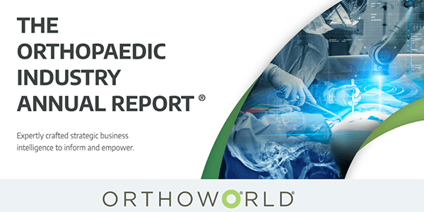 Global Orthopedic Market Projected to Grow to $54.5 Billion in 2021 Following -10.6% Decline